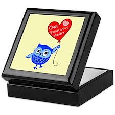Owl Steal Your Heart Keepsake Box