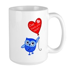 Owl Steal Your Heart Mugs