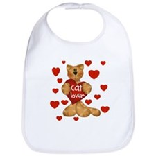 Cat Lover Bib