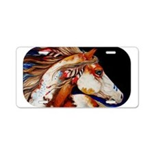 Spirit Horse Aluminum License Plate