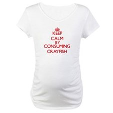 Keep calm by consuming Crayfish Shirt