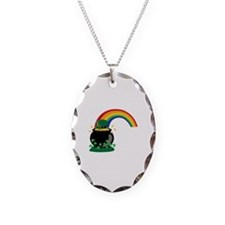 Pot O Gold Rainbow Necklace