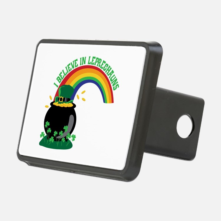 I BELIEVE IN LEPRECHAUNS Hitch Cover