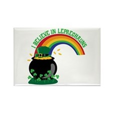 I BELIEVE IN LEPRECHAUNS Magnets
