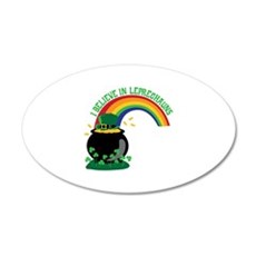I BELIEVE IN LEPRECHAUNS Wall Decal