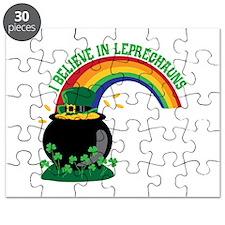 I BELIEVE IN LEPRECHAUNS Puzzle