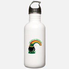 I BELIEVE IN LEPRECHAUNS Water Bottle