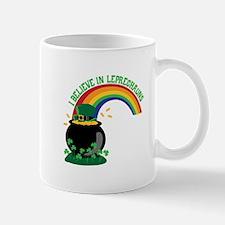 I BELIEVE IN LEPRECHAUNS Mugs