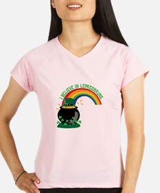 I BELIEVE IN LEPRECHAUNS Performance Dry T-Shirt