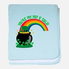 YOURE MY POT O GOLD! baby blanket