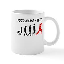 Custom Cricket Evolution (Red) Mugs
