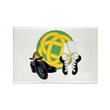 Celtic Knot Irish Shoes Magnets