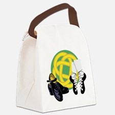 Celtic Knot Irish Shoes Canvas Lunch Bag