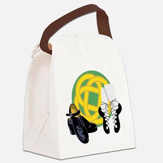 Celtic Knot Irish Shoes Canvas Lunch Bag