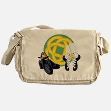 Celtic Knot Irish Shoes Messenger Bag