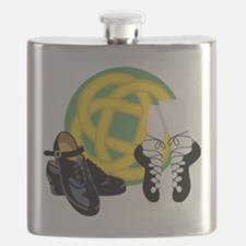 Celtic Knot Irish Shoes Flask