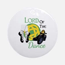 LORD OF THE Dance Ornament (Round)