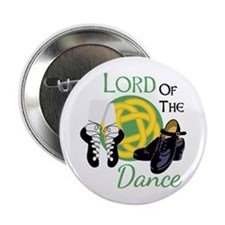 """LORD OF THE Dance 2.25"""" Button"""