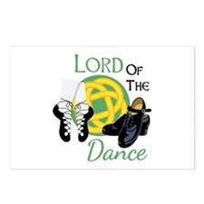 LORD OF THE Dance Postcards (Package of 8)