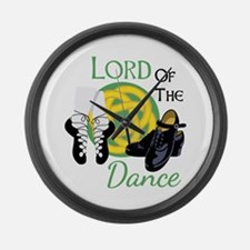 LORD OF THE Dance Large Wall Clock