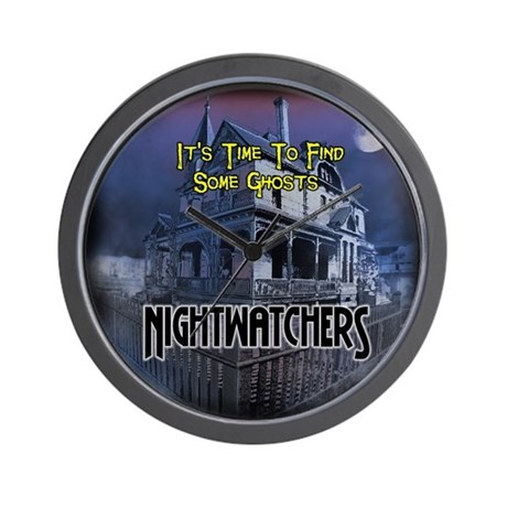 Nightwatchers Wall Clock