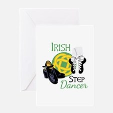 IRISH STEP Dancer Greeting Cards