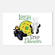 IRISH STEP Dancer Postcards (Package of 8)