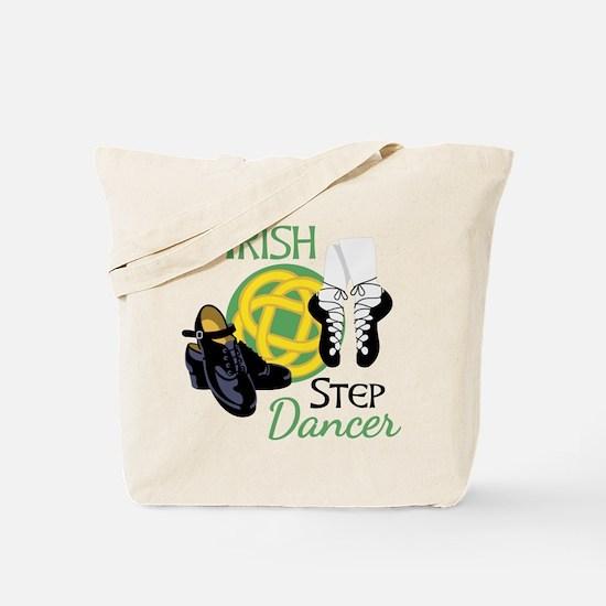 IRISH STEP Dancer Tote Bag