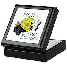 IRISH STEP Dancer Keepsake Box