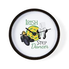 IRISH STEP Dancer Wall Clock