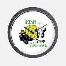 IRISH STEP Dancer Wall Clock