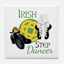 IRISH STEP Dancer Tile Coaster