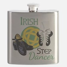 IRISH STEP Dancer Flask