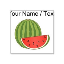 Custom Watermelon Sticker