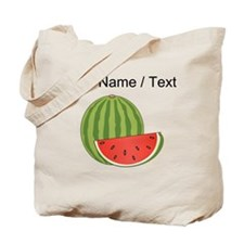 Custom Watermelon Tote Bag