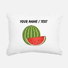 Custom Watermelon Rectangular Canvas Pillow