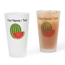 Custom Watermelon Drinking Glass