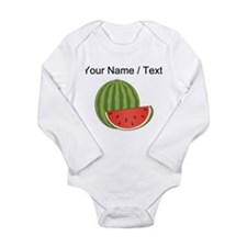 Custom Watermelon Body Suit