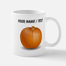 Custom Orange Pumpkin Mugs