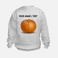 Custom Orange Pumpkin Sweatshirt