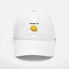 Custom Yellow Lemon Baseball Baseball Cap