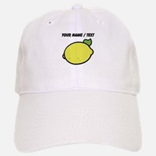 Custom Lemon Drawing Baseball Baseball Cap