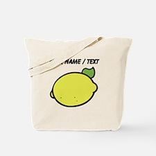Custom Lemon Drawing Tote Bag