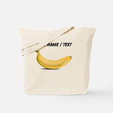 Custom Yellow Banana Tote Bag