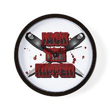 Jack the Ripper 5 Wall Clock