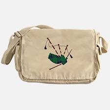 Scottish Bagpipes Messenger Bag