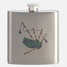 Scottish Bagpipes Flask