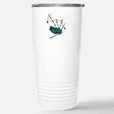 Scottish Bagpipes Travel Mug