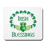 Claddagh irish symbol Classic Mousepad