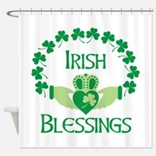 IRISH BLESSINGS Shower Curtain